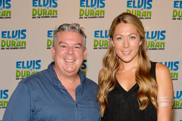 Elvis Duran Colbie Callait Visits a Radio Morning Show