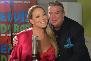 Elvis Duran Mariah Carey Stops by a Radio Show