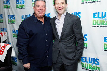 Elvis Duran Dan Harris Visits a Morning Radio Show