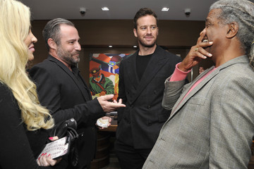 Elvis Mitchell Breitling Boutique Los Angeles Welcomes Armie Hammer And Elvis Mitchell To Unveil The All-New Breitling Premier Collection Of Watches