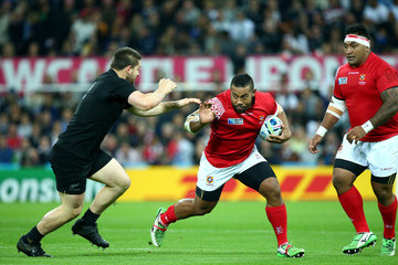 Elvis Taione New Zealand v Tonga - Group C: Rugby World Cup 2015