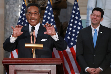 Emanuel Cleaver 50th Anniversary Of MLK Jr.'s Assassination Commemorated At U.S. Capitol