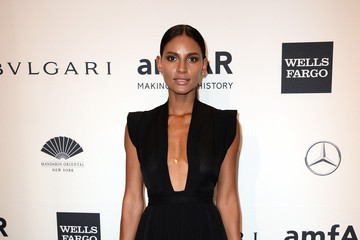 Emanuela De Paula Arrivals at the amfAR New York Gala