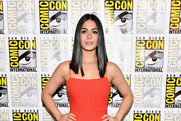 Emeraude Toubia Comic-Con International 2017 - Freeform Press Line For 'Stitchers' And 'Shadowhunters'