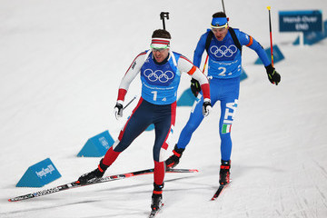 Emil Hegle Svendsen Biathlon - Winter Olympics Day 11