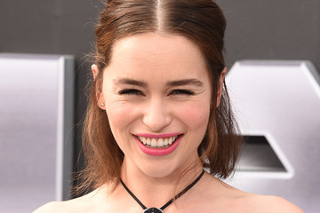 Emilia Clarke Celebs Arrive at the Premiere of Paramount Pictures' 'Terminator Genisys'