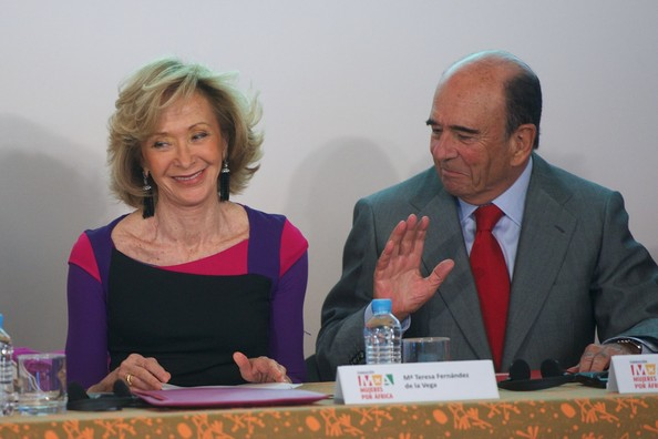Queen Sofia Attends an Exhibit in Madrid