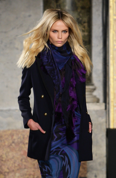 Model Natasha Poly walks the runway during the Emilio Pucci Milan  Fashion Week Autumn/Winter 2010 show on February 27, 2010 in Milan,  Italy.