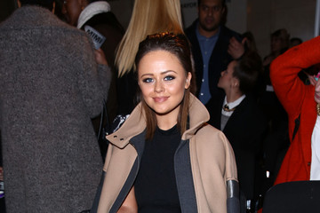 Emily Atack Day 2 - Front Row - LFW FW15