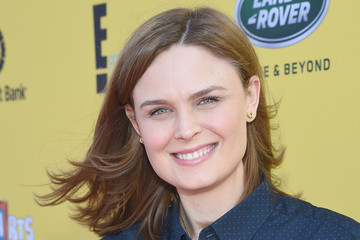 Emily Deschanel P.S. ARTS Presents Express Yourself 2014