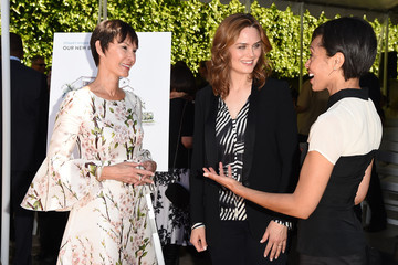 Emily Deschanel The Rape Foundation's Groundbreaking Ceremony