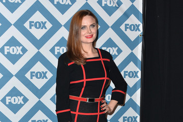 Emily Deschanel Arrivals at the Fox All-Star Party — Part 2