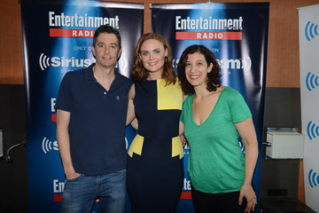 Emily Deschanel SiriusXM Broadcasts from Comic-Con