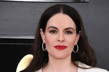 Emily Hampshire 61st Annual Grammy Awards - Arrivals