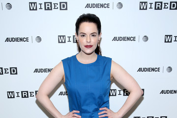 Emily Hampshire 2017 WIRED Cafe at Comic Con, Presented By AT&T Audience Network - Day 2