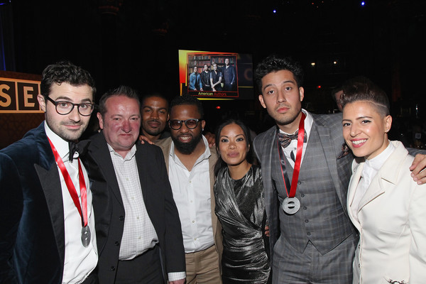 2016 SESAC Pop Music Awards - Show [event,fun,night,party,formal wear,sesac pop music awards,l-r,show,james napier,greggory smith,jamie dominguez,john sweeney,mario prins,ceasar ramirez,emily king]