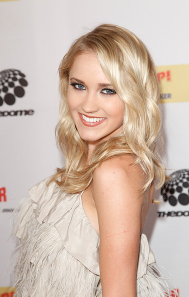 Emily Osment Singer Emily Osment attends The Dome 55 on August 27, 2010 in Hannover, Germany.