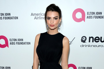 Emily Ratajkowski Elton John AIDS Foundation Oscar Viewing Party — Part 6