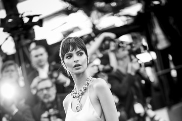 Emily Ratajkowski 'Ismael's Ghosts (Les Fantomes d'Ismael)' and Opening Gala Red Carpet Arrivals - The 70th Annual Cannes Film Festival
