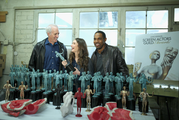 The 22nd Annual Screen Actors Guild Awards - The Casting of the SAG Awards Statuette