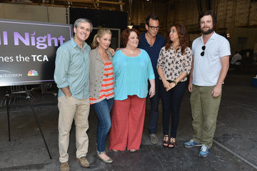 """Emily Spivey NBCUniversal's """"Up All Night"""" TCA Set Visit"""