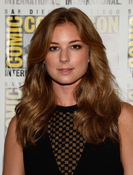 "Emily VanCamp Actress Emily VanCamp attends Marvel Studios' ""Thor: The Dark World"", ""Captain America: The Winter Soldier"" and ""Guardians of The Galaxy"" during Comic-Con International 2013 at Hilton San Diego Bayfront Hotel on July 20, 2013 in San Diego, California."