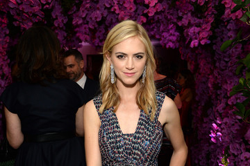Emily Wickersham BVLGARI And Save The Children Pre-Oscar Event