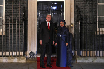 Emine Erdoğan NATO Leaders Summit Takes Place In The UK - Day One