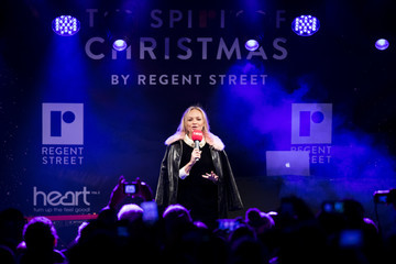 Emma Bunton Regent Street Christmas Lights Switch On
