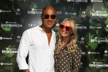 Emma Bunton Jade Jones Barclaycard Presents British Summer Time Hyde Park - 14 July