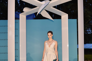 Emma Ferrer Tiffany & Co. Celebrates the Opening of Its New Store in Rome