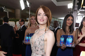 Emma Stone FIJI Water at the 74th Annual Golden Globe Awards