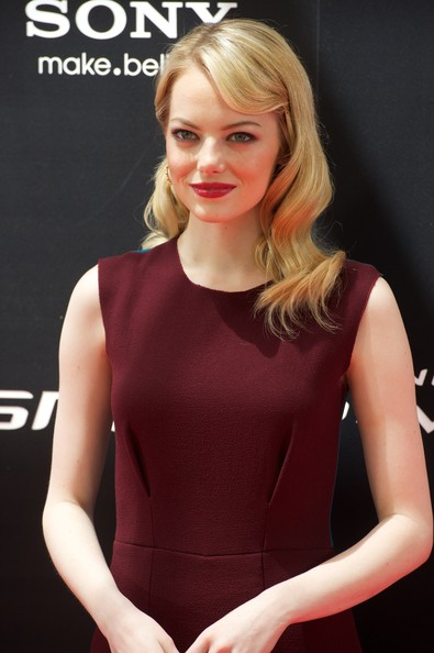Emma Stone - 'The Amazing Spider-man' Madrid Press Conference