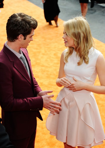 Emma Stone and Andrew Garfield Photos Photos - Nickelodeon ...