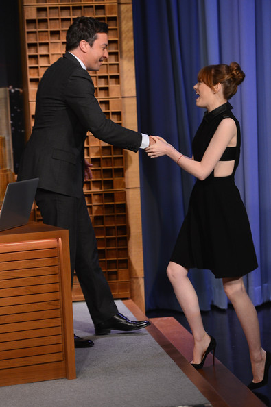 "Emma Stone - Emma Stone Visits ""The Tonight Show Starring Jimmy Fallon"""