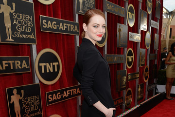 Emma Stone 21st Annual Screen Actors Guild Awards - Red Carpet