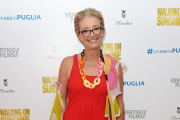 Emma Thompson 'Walking on Sunshine' Premieres in London