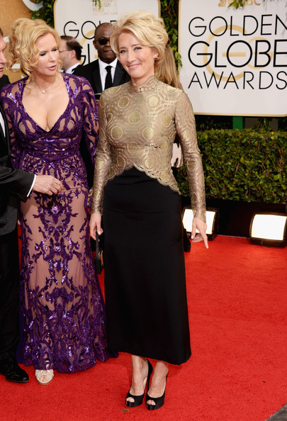 Emma Thompson - 71st Annual Golden Globe Awards - Arrivals