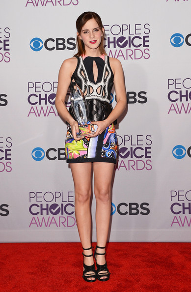 Emma Watson - 39th Annual People's Choice Awards - Press Room