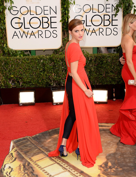 Emma Watson - 71st Annual Golden Globe Awards - Arrivals