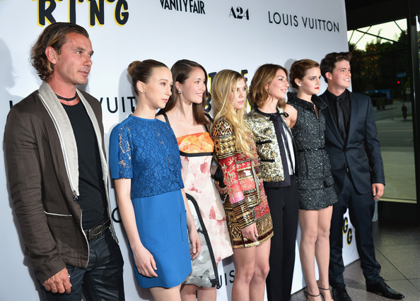 'The Bling Ring' Premieres in LA — Part 2 [the bling ring,event,fashion,premiere,tourism,team,fashion design,carpet,style,performance,gavin rossdale,sofia coppola,actors,emma watson,los angeles,a24,red carpet,premiere,premiere]