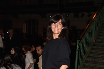 Emmanuelle Alt Front Row at Givenchy