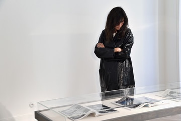 Emmanuelle Alt 'Femininities' - Guy Bourdin Inaugural Exhibition and Unveiling of Maison Chloe - Paris Fashion Week