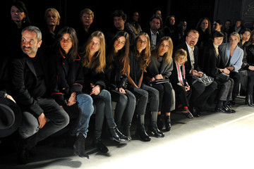 Emmanuelle Alt Front Row at the IRFE Show