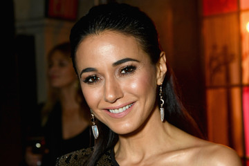 Emmanuelle Chriqui Entertainment Weekly Celebrates Screen Actors Guild Award Nominees At Chateau Marmont Sponsored By L'Oréal Paris, Cadillac, And PopSockets - Inside