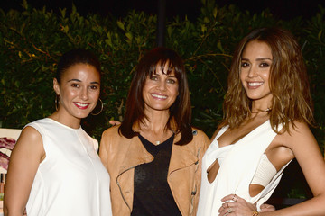 Emmanuelle Chriqui Jessica Alba, Humberto Leon And InStyle Celebrate Honest Beauty and The Launch Of The #letsbehonest Campaign