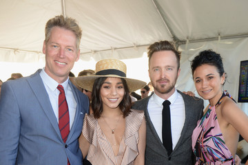 Emmanuelle Chriqui The Inaugural $12 Million Pegasus World Cup Invitational, the World's Richest Thoroughbred Horse Race at Gulfstream Park