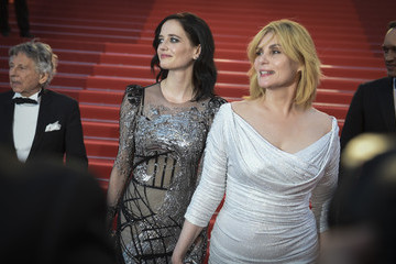 Emmanuelle Seigner 'Based on a True Story' Red Carpet Arrivals - The 70th Annual Cannes Film Festival