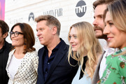 """Sarah Aubrey,  John Martin and Dakota Fanning attend Emmy For Your Consideration Red Carpet Event For TNT's """"The Alienist"""" - Red Carpet at Wallis Annenberg Center for the Performing Arts on May 23, 2018 in Beverly Hills, California."""