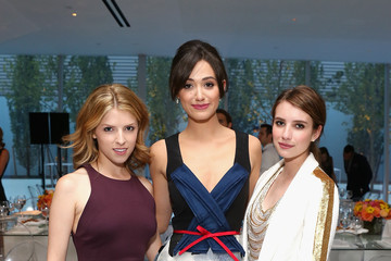 Emmy Rossum Anna Kendrick Celebs at the Persol Magnificent Obsessions Event —Part 2